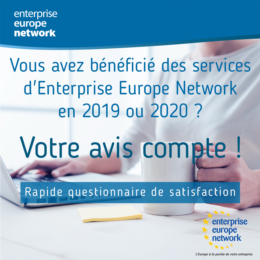 Enterprise Europe Network satisfaction survey for 2019-2020